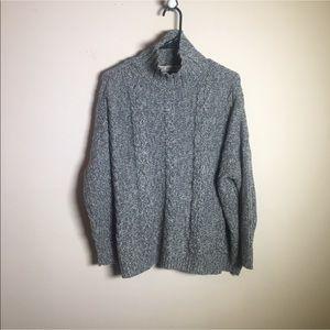 ZARA KNIT chunky oversized sweater